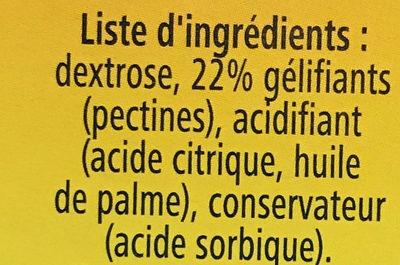 Ancel Priz Extra - Ingrédients
