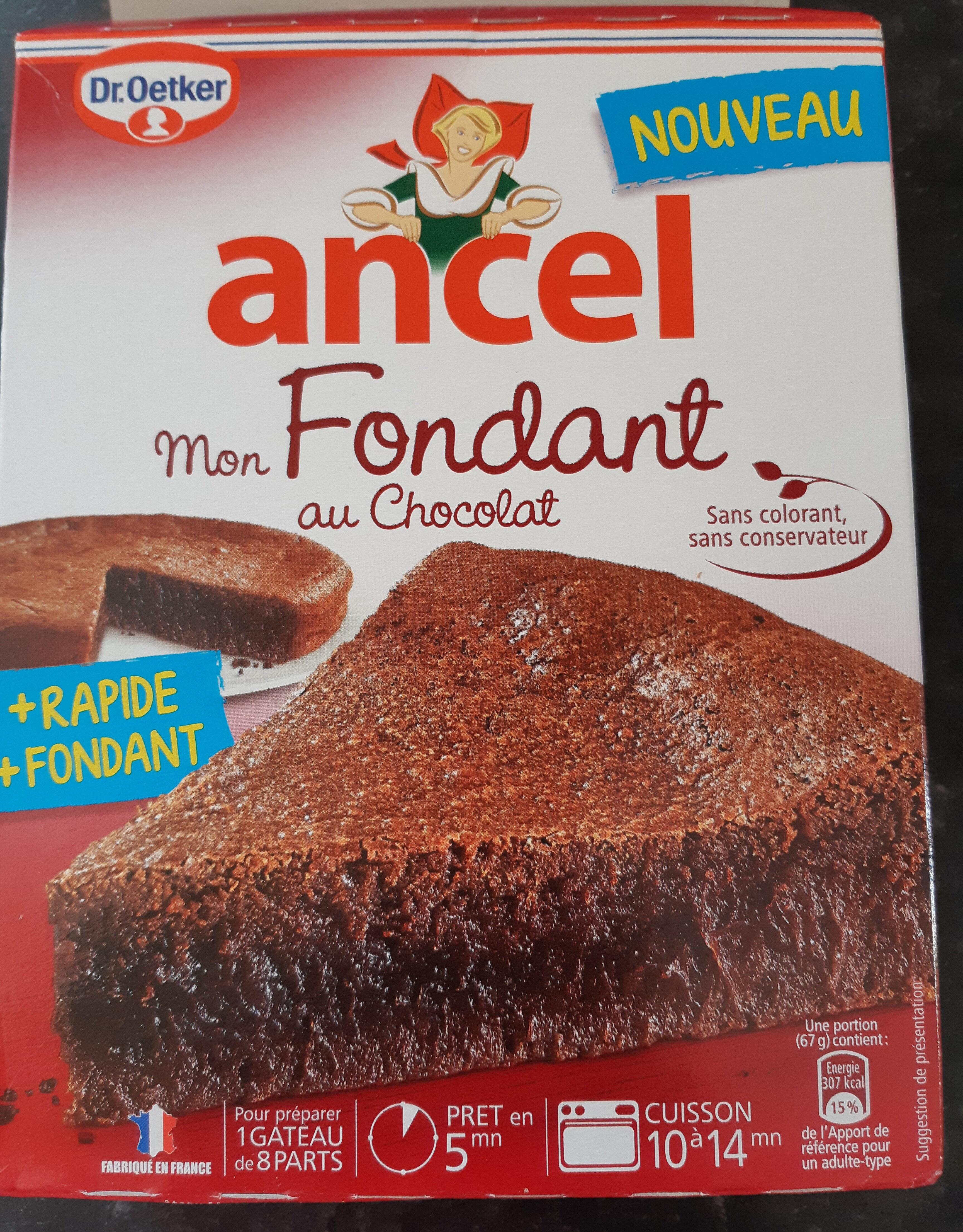 Mon Fondant au chocolat - Product - fr