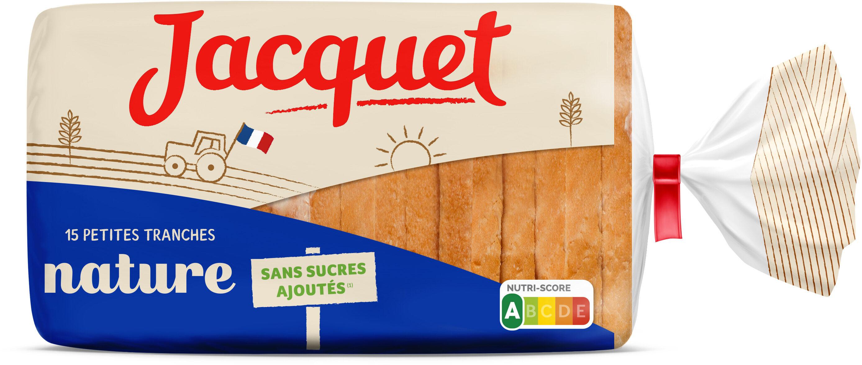 Pain De Mie Nature Sans Sucres Ajoutés - Produit - fr
