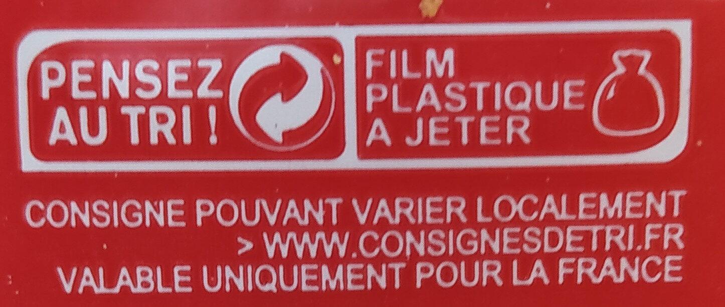 Toasts ronds brioché - Recyclinginstructies en / of verpakkingsinformatie - fr