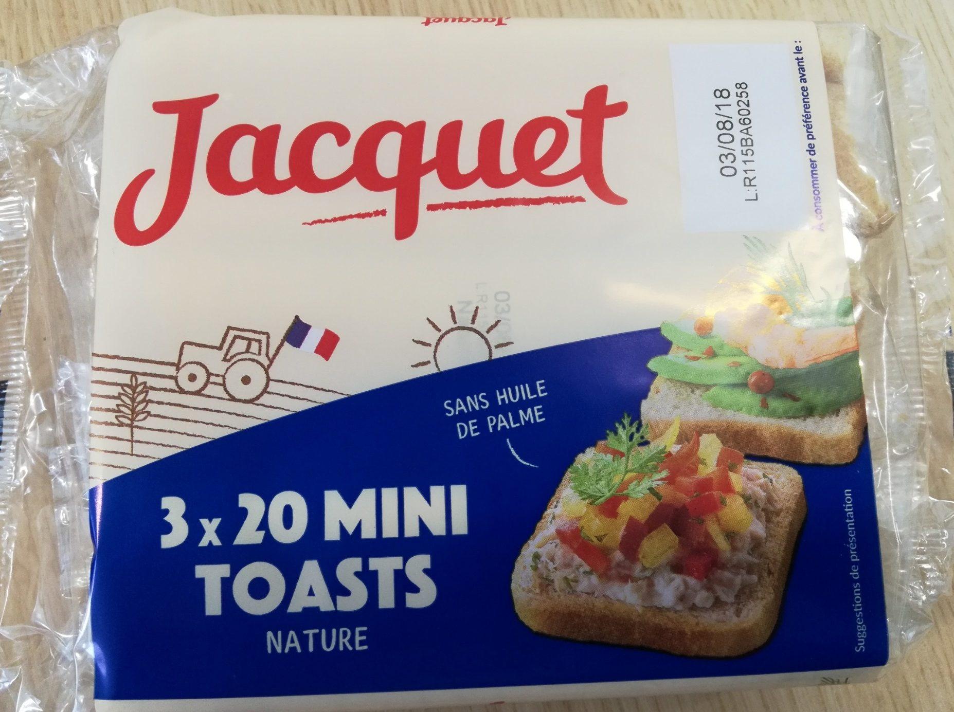 Mini Toasts Nature - Prodotto - fr