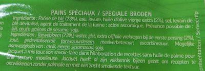Panini - Ingredientes