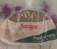 Fines tartines à la farine de seigle - Produit