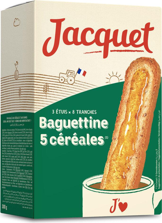Baguettine 5 céréales - Product - fr