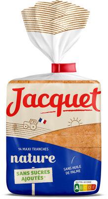 Maxi Tranches Sans sucre ajouté Nature 550 GR - Product - fr