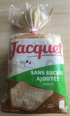 Pain de mie complet sans sucres ajoutés - Produkt - fr