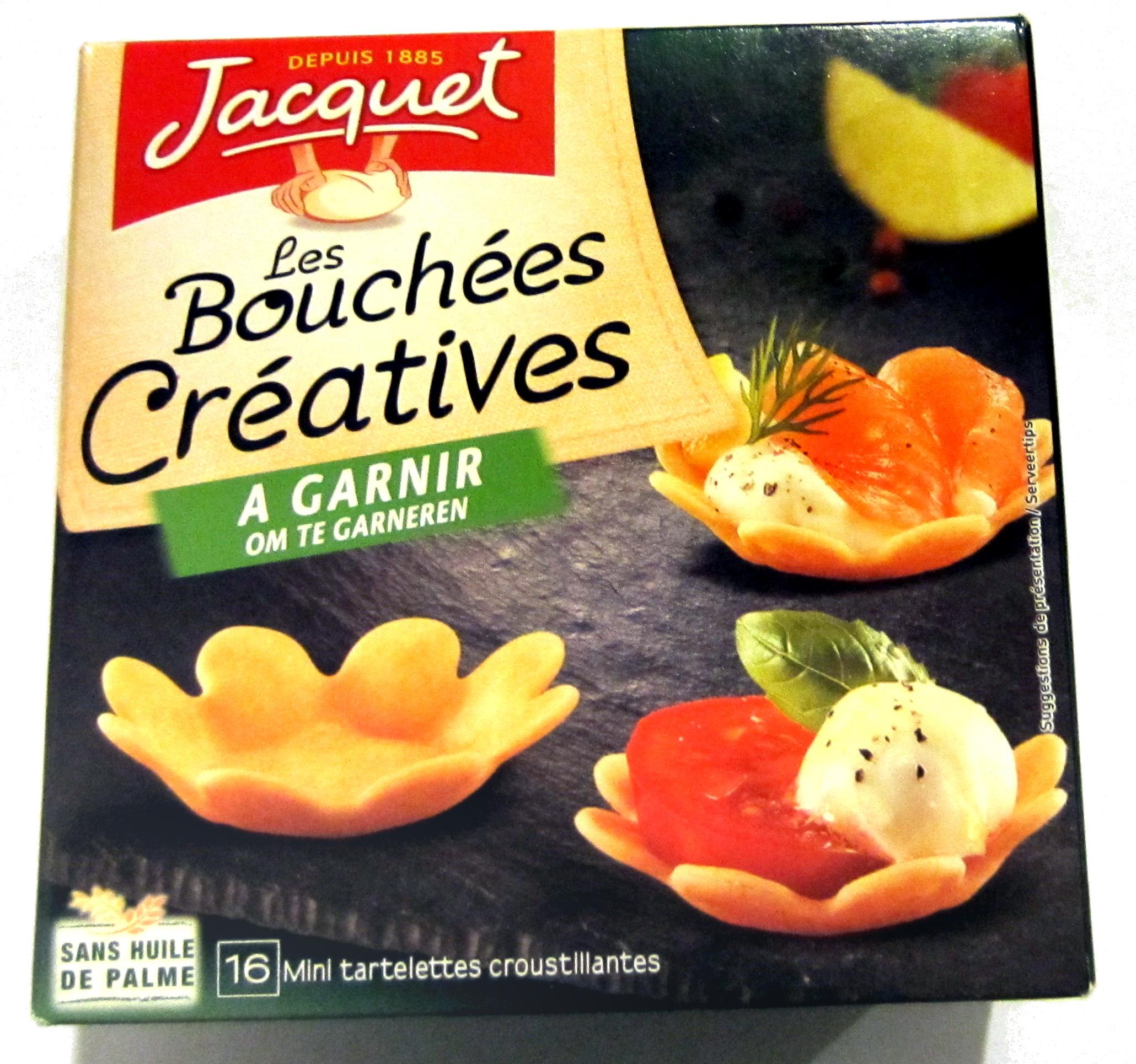 Jacquet Les bouchées créatives à garnir - Product - fr