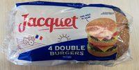 Double Burger nature - Produit - fr