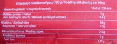 Les Toasts pour Foie Gras Brioché (2 + 1 Gratuit) - (3 x 36 Toasts) - Voedingswaarden