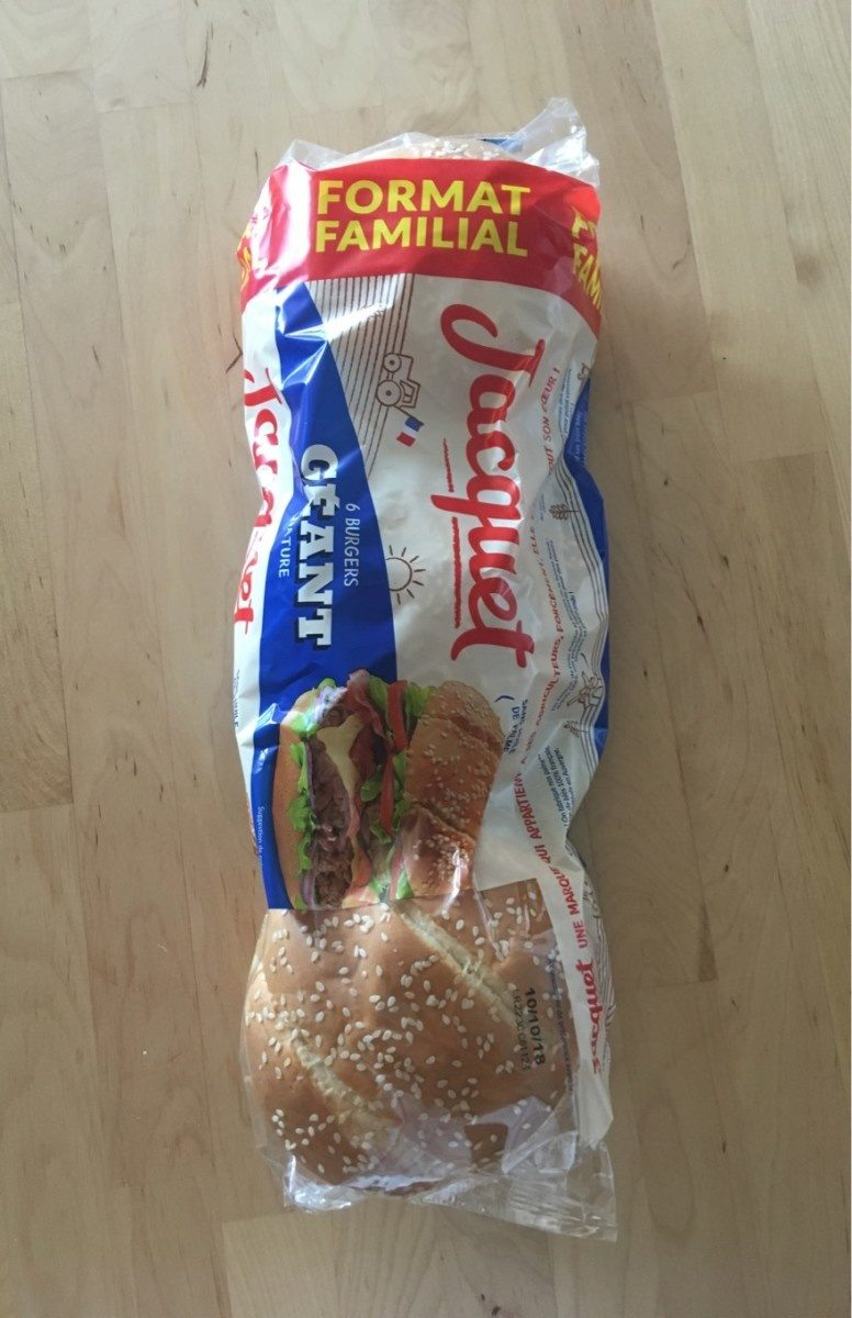Pain Hamburger - Product