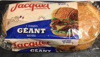 Pain Burger Géant - Produit