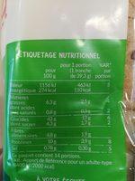 Grandes tranches 11 céréales & graines - Informations nutritionnelles - fr
