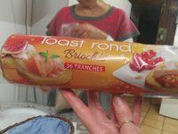 Toast rond - Produit