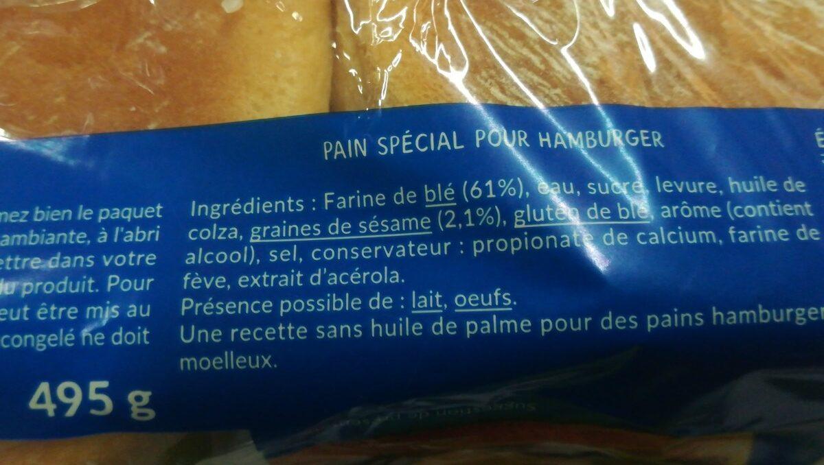 Burger géant - Ingrédients - fr