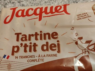 Tartine p'tit dej à la farine complète - Product - fr