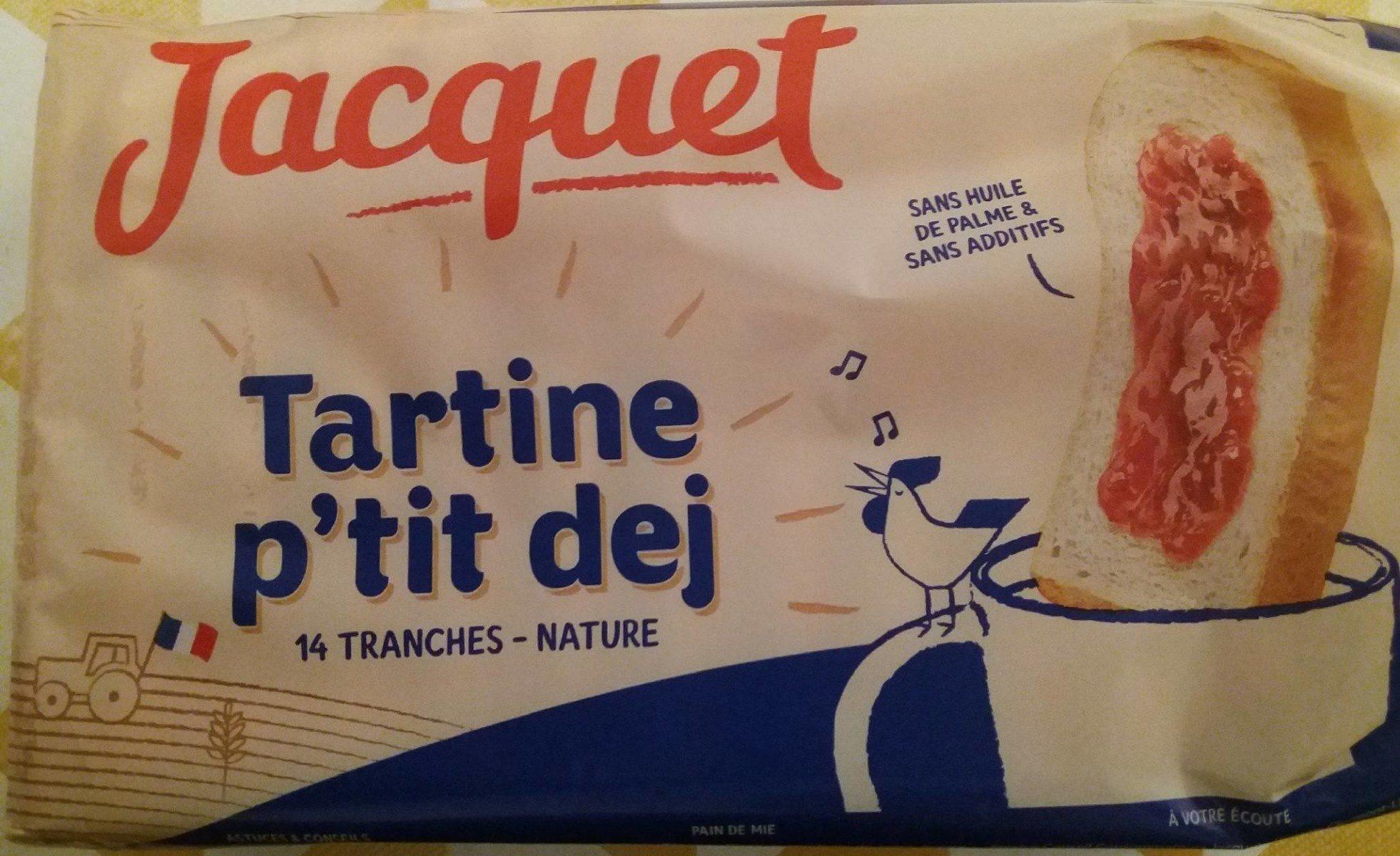 Tartine p'tit dej - Produit