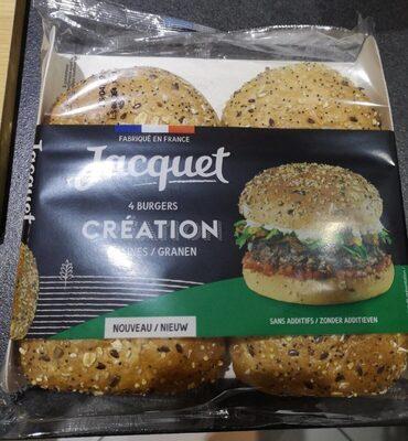 4 Burgers Création Graines - Produit - fr