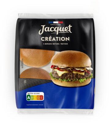Burger creation nature x4 260g - Produit - fr