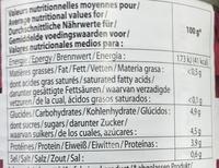 Betteraves rouges en dés assaisonnées - Informations nutritionnelles - fr