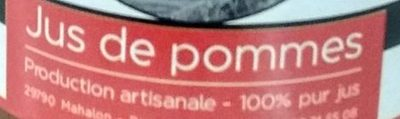 Jus de pomme - Ingredientes - fr