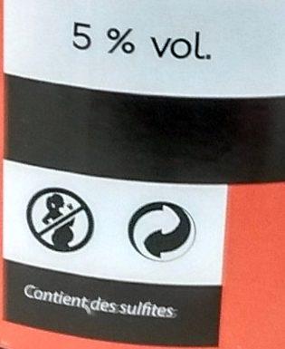 Cidre Bouché Pur jus Kan Ar Mor - Información nutricional