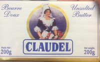 Beurre doux - Produit