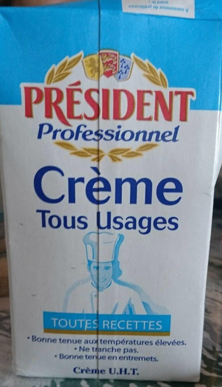 Crème Uht Tous Usages 30 % - Produit - fr