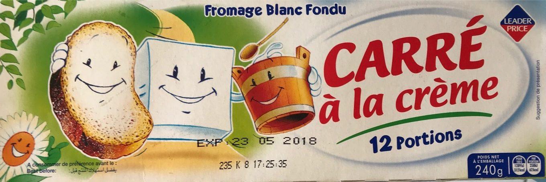 Carré à la Crème - Produit