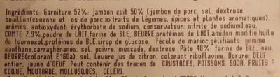 Feuillantine Comtoise - Ingrédients