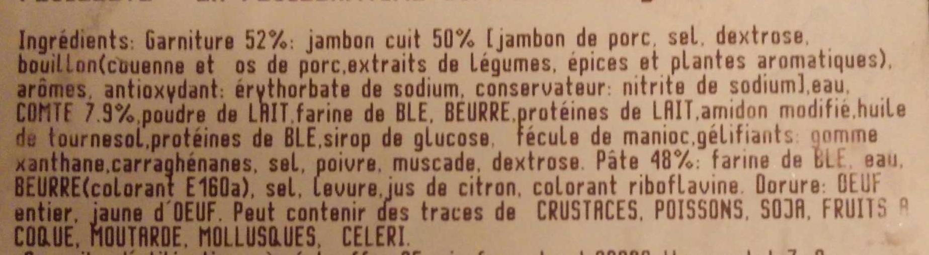 Feuillantine Comtoise - Ingrediënten - fr