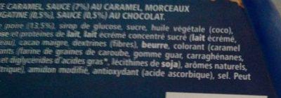 Bûche glacée Sensations Poire Chocolat - Ingrediënten - fr