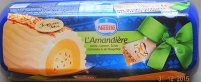 L'amandière, vanille, caramel, éclats d'amandes & de nougatine - Product