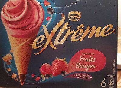 Sorbets fruits rouges extrême - Produit - fr