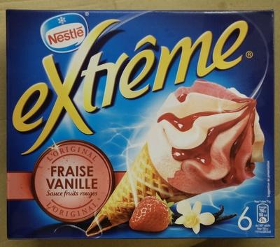 Extrême Original Fraise Vanille Sauce fruits rouges - Product