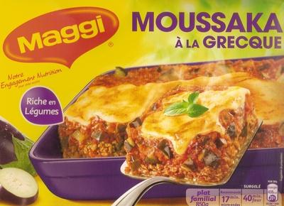 Moussaka à la grecque - Produit
