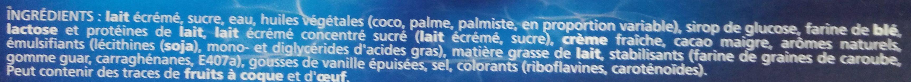 Extrême l'Original parfum Crème Brûlée & Éclats Caramélisés - Ingrediënten