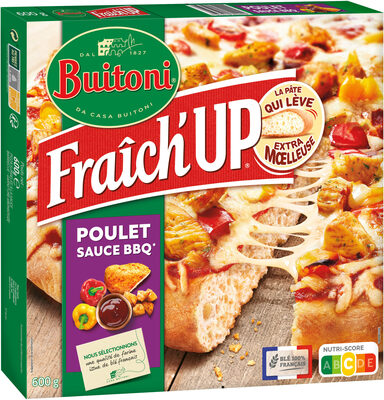 BUITONI FRAICH'UP Pizza Surgelée Poulet Barbecue - Product - fr