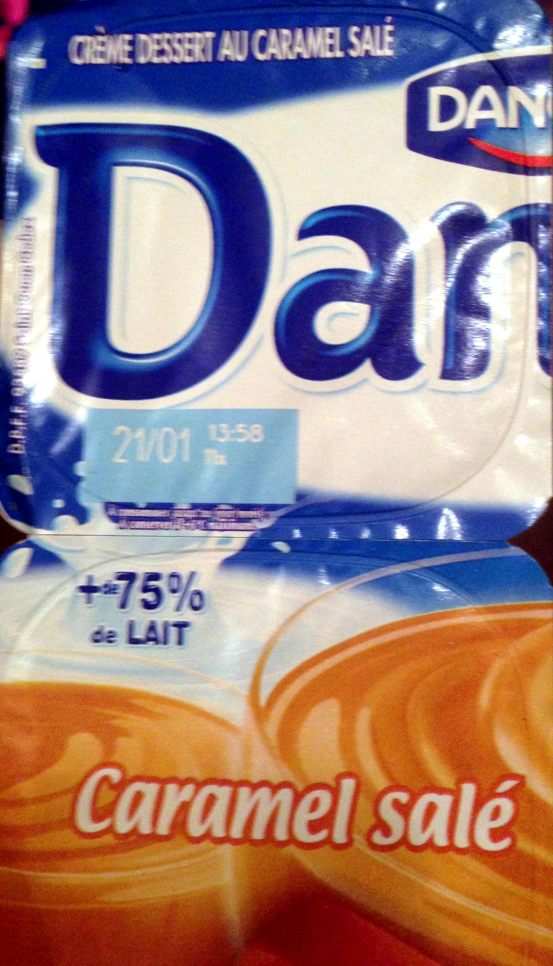 Danette caramel salé - Product