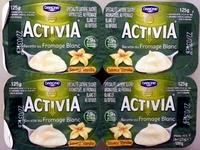 Activia Recette au fromage blanc (2,9 % MG) Saveur Vanille - Product - fr
