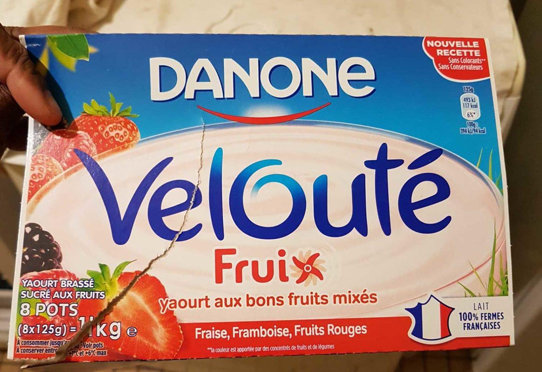 Velouté Fruix Fruits Rouges - Produit