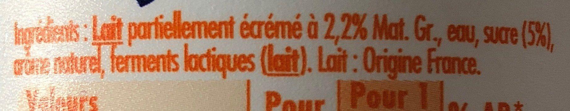 Lassi inspire d inde - Ingrediënten - fr