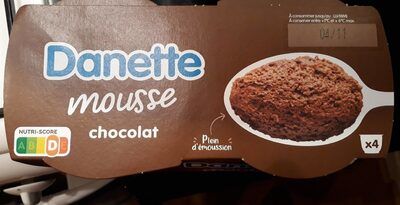 Danette Mousse Chocolat - Product