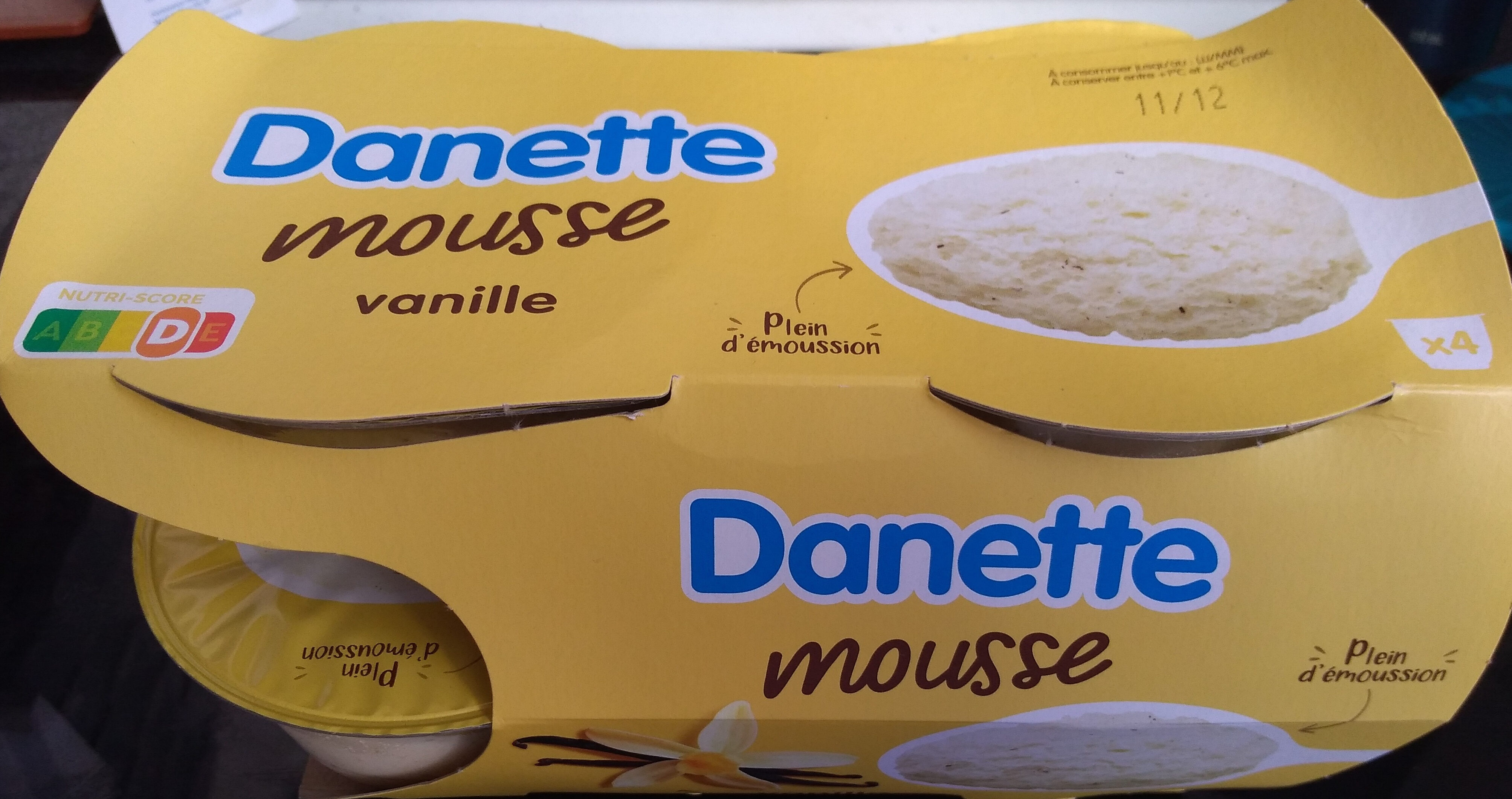 Mousse Vanille - Product