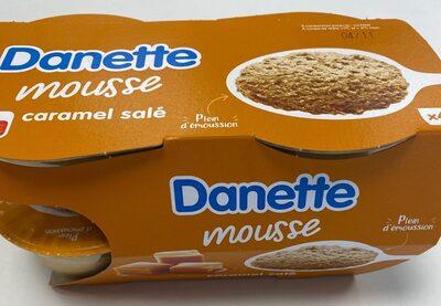 Danette Mousse caramel salé - Prodotto - fr