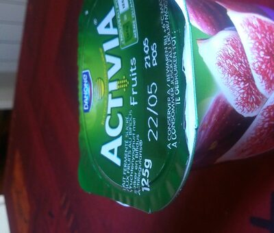 activia figue - Product - fr