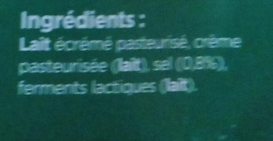 Cottage Cheese - Ingrediënten