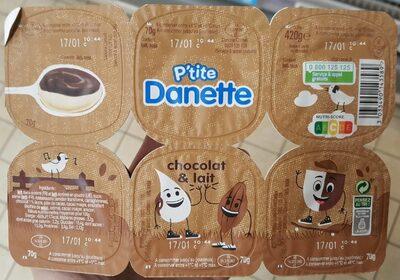 P'tite Danette Chocolat - Product