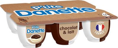 Crème dessert chocolat et lait - Product - fr