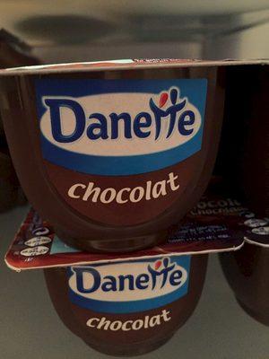 Crème Dessert Danette Danone, Chocolat Prix Choc - Produit