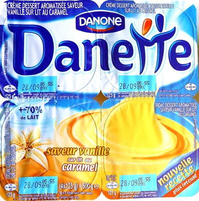 Danette (saveur vanille sur lit au caramel) - Produit - fr